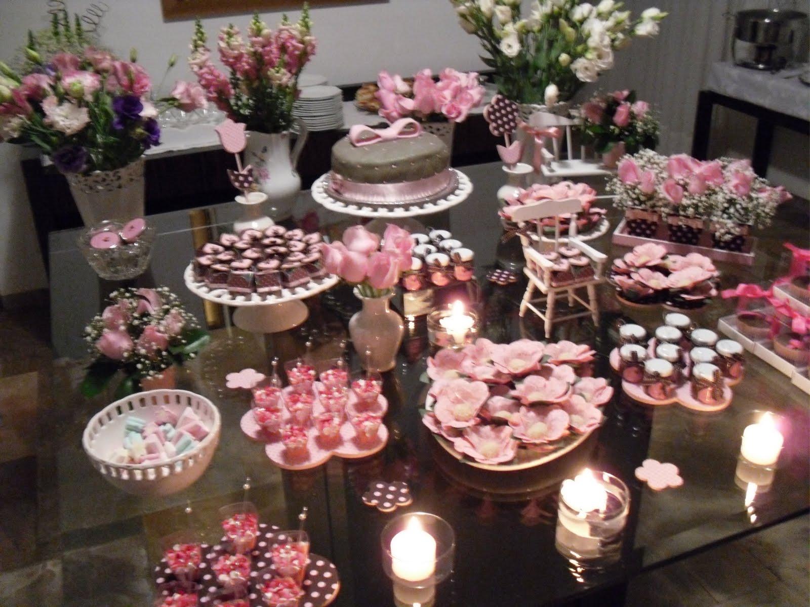decoracao casamento rosa e marrom:Flor da Laranjeira: Aniversário 27 anos – Marrom e Rosa