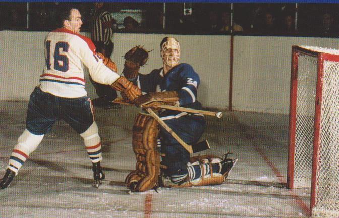 Don Simmons (ice hockey) Vintage Leaf Memories Michael Langlois Remembering Don Simmons