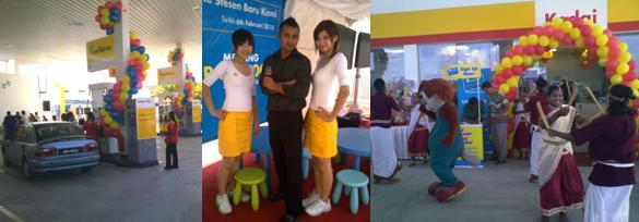 Shell Gopeng opening Ceremony FEB 2010