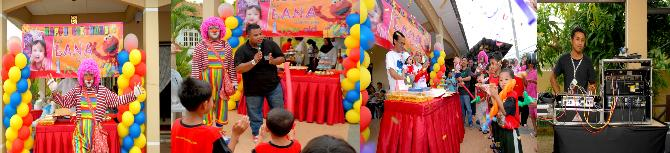 Lana's 1st Birthday Party