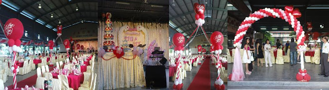 Pui & Lee Wedding Decor