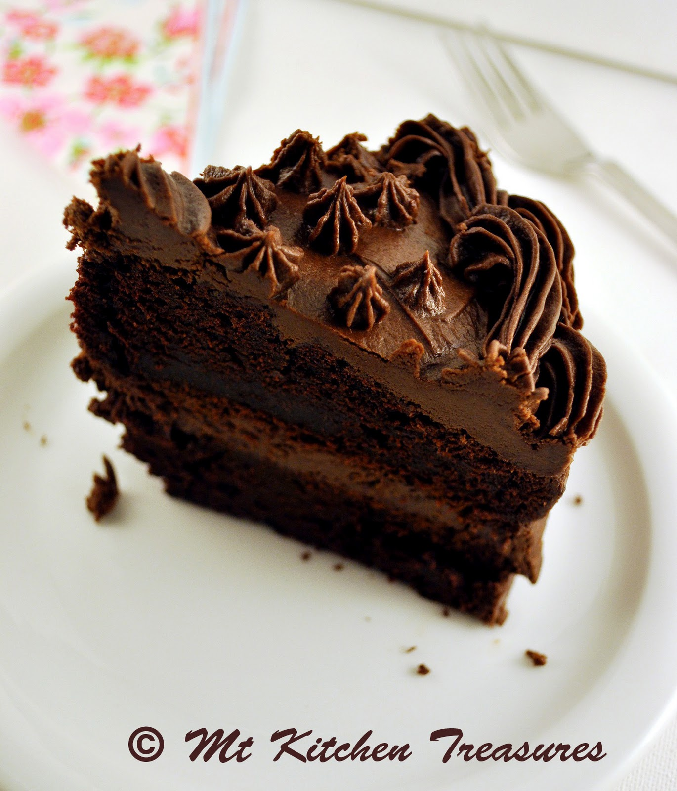 My Kitchen Treasures: Devil's Food Cake