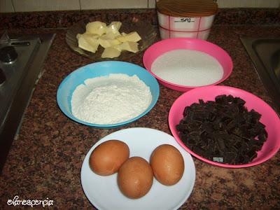 ingredientes parael bizcocho