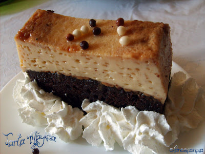 ración tarta con nata