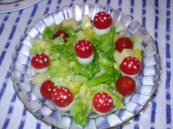 ensalada de setas