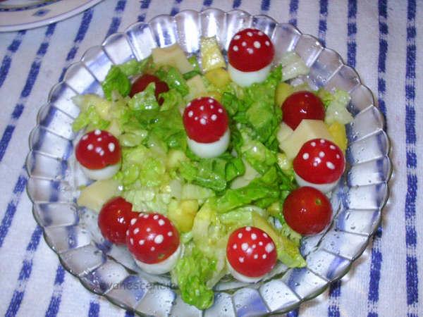 ensalada de setas