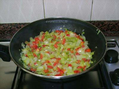 pochar toda la verdura