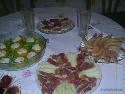 menu nochevieja