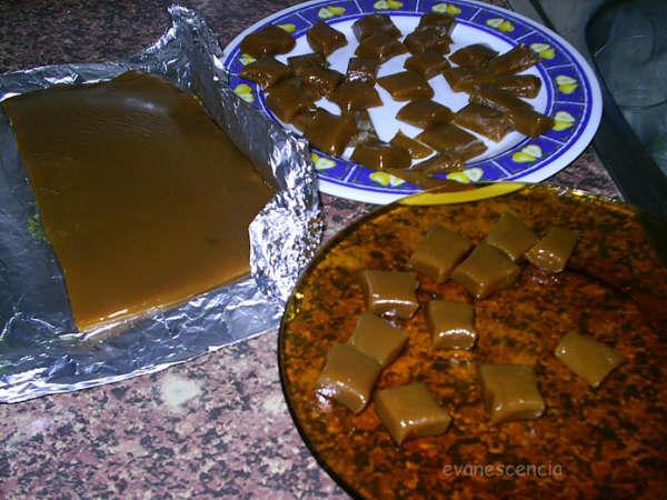 cortando caramelos