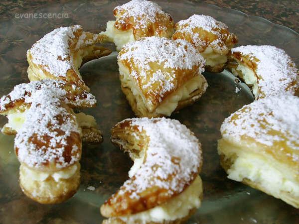 pastelitos de hojaldre