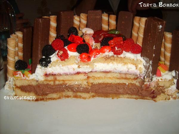 vista corte tarta