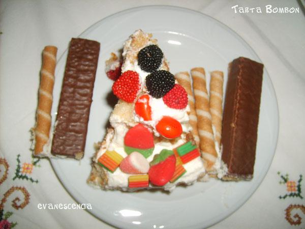 racion tarta bombon
