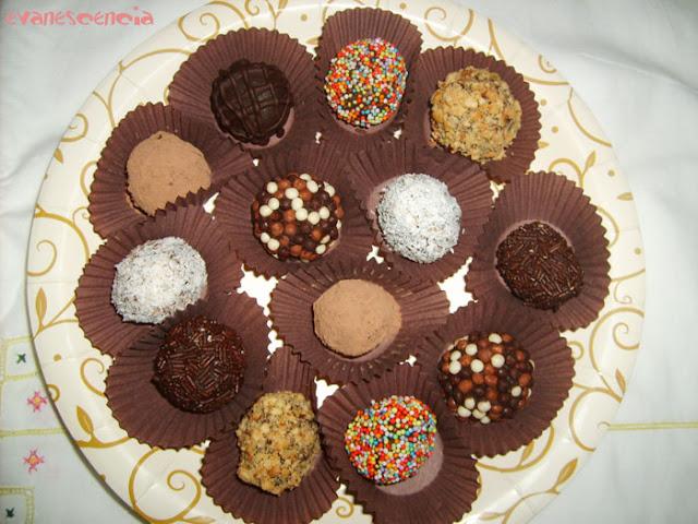 trufas de chocolate para regalar