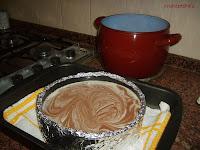 molde antes de meter al horno