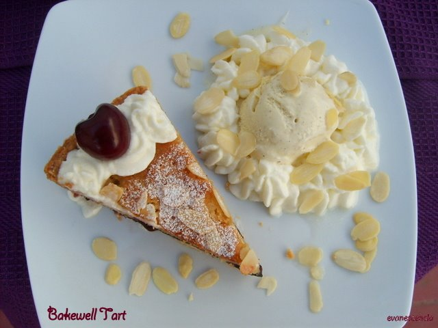 bakewell con helado