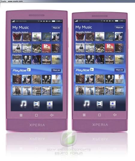 Produk Terbaru Sony Ericsson Xperia X12