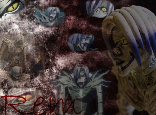wallpaper death note. Rem Death Note Wallpaper