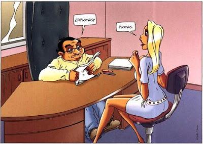 Chistes de rubias for Oficina trabajo temporal