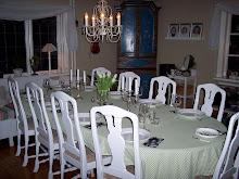 Matplatsen i vardagsrummet.