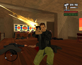 GTA San Andreas MODs: Claude Speed beta 4