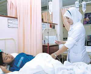 Jururawat kerjaya mulia
