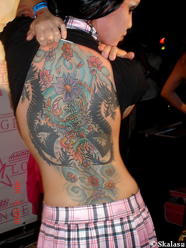 The Spice Girl is back in vogue. If you do not wish for a big tattoo,