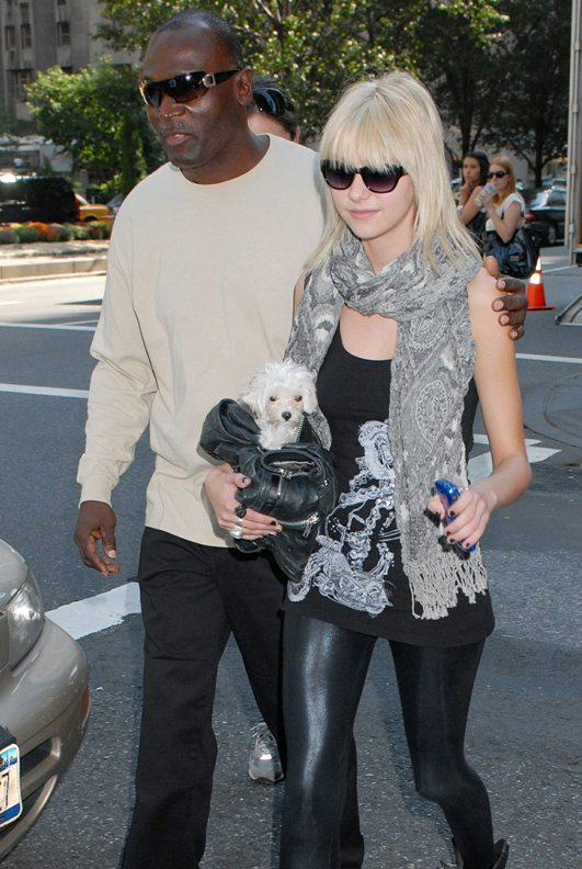 Celebrity Pets: Taylor Momsen And Her Tiny White Maltese Pooch