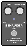Teste do pedal compressor Behringer DC9 na Central do Rock