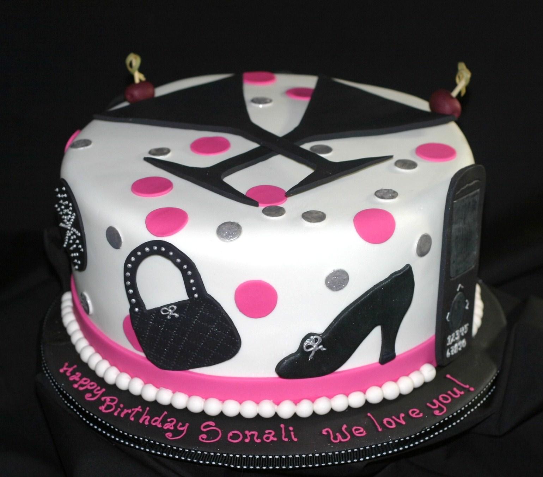 My Pink Little Cake Martini Fashionista Cake