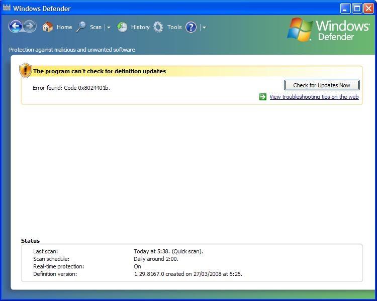 Window Defender Update Of Kahfi Community Mengatasi Error Update Windows Defender