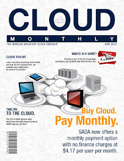 Front cover of Cloud Monthly magazine