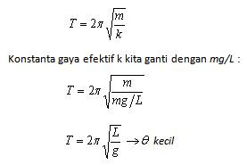 Pendulum sederhana