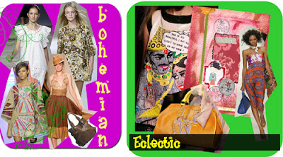 Bohemian and Eclectic fashion