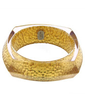 Resin bangle bracelet by Charles Winston