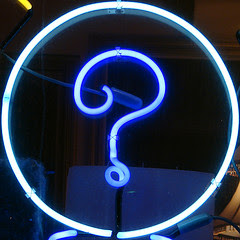 Question Mark Squircle by Gareth Simpson