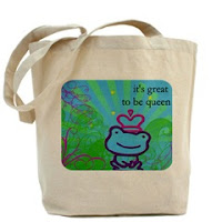Canvas Tote Whimsical Graphic Design