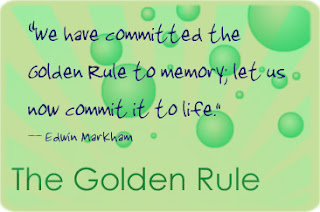 The Golden Rule Quote