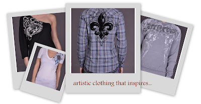 artistic clothing