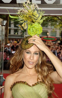 Sarah Jessica Parker at Sex and the City premiere in London