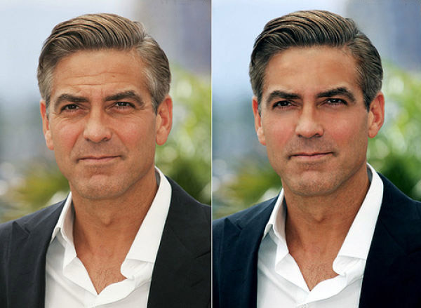 hot celebrities pics george clooney sexy pics photoshopped photos wallpapers hot hollywood celebrities