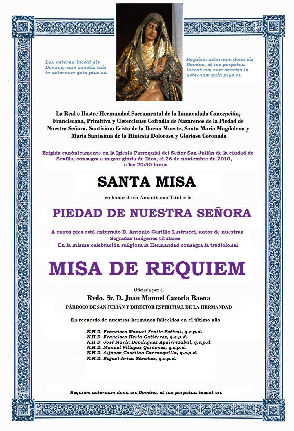 Frases Para Misa Requiem