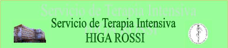 HIGA ROSSI Servicio de Terapia Intensiva