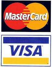 We accept Visa and Bancontact