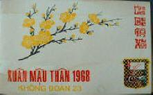 Xuan Mau Than 1968 Khong Doan 23
