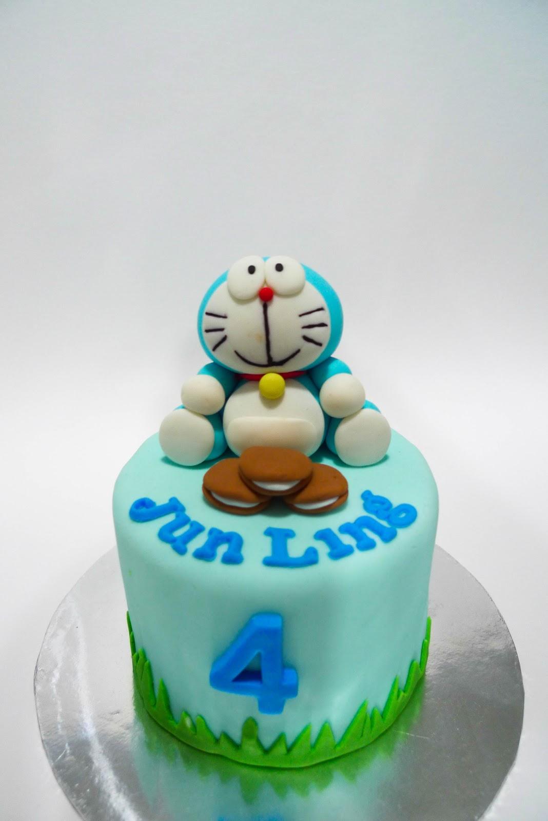 Birthday Cake Images Of Doraemon ~ Sweet clay doraemon