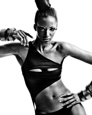 Lyndsey Scott ~ First Black Model to Score Calvin Klein Exclusive