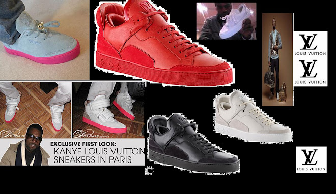 Kanye West's Louis Vuitton Sneakers