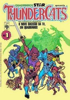 Thundercats on Anos 80  A D  Cada Perdida    Revistas De He Man E Thundercats