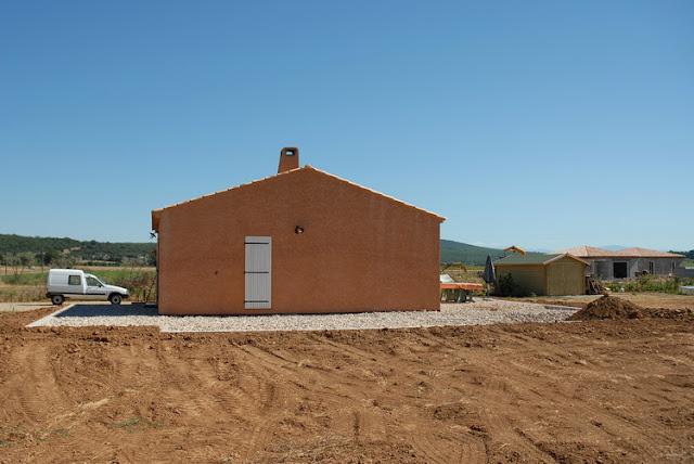 Notre Maison En Provence: Création De La Terrasse Et Du Drainage