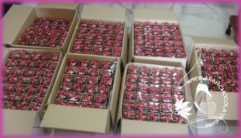 Arahchocolate and bakery 900 kotak oreo door gift for Idea door gift perkahwinan